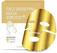Parfumuri și produse cosmetice Mască aurie cu colagen - Berrisom Face Wrapping Mask Collagen Solution