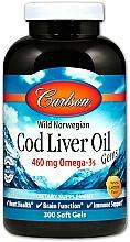 "Parfumuri și produse cosmetice Supliment alimentar ""Ulei de cod"", 460mg - Carlson Labs Cod Liver Oil Gems"