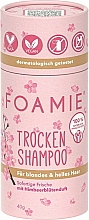 Parfumuri și produse cosmetice Șampon uscat pentru blonde - Foamie Dry Shampoo Berry Blossom