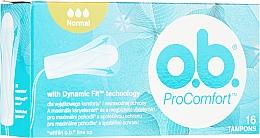 Parfumuri și produse cosmetice Tampoane, 16 buc - o.b. ProComfort Normal Tampons