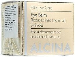 Parfumuri și produse cosmetice Balsam anti-îmbătrânire pentru pleoape - Alcina E Eye Balm
