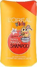 """Parfumuri și produse cosmetice Șampon pentru copii 2în1 """"Tropical mango"""" - L'Oreal Paris Kids Tropical Mango Shampoo"""