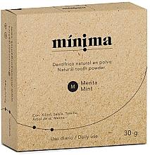 Parfumuri și produse cosmetice Praf natural pentru dinți - Minima Organics Natural Tooth Powder