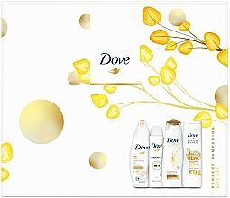 Parfumuri și produse cosmetice Set - Dove Perfect Pampering Gift Set (sh/gel/250ml + b/lot/250ml + shm/250/ml + deo/150ml)