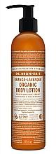 """Parfumuri și produse cosmetice Loțiune pentru mâini și corp """"Lavandă portocalie"""" - Dr. Bronner's Orange Lavender Organic Hand & Body Lotion"""