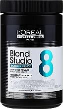Parfumuri și produse cosmetice Pudră iluminatoare - L'Oreal Professionnel Blond Studio MT8 Blonder Inside