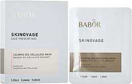 Parfumuri și produse cosmetice Mască pentru ten sensibil - Babor Skinovage Calming Bio-Cellulose Mask