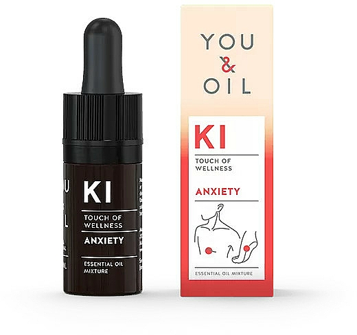 Amestec de uleiuri esențiale - You & Oil KI-Anxiety Exhaustion Touch Of Welness Essential Oil — Imagine N1