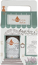 Parfumuri și produse cosmetice Set - NeBiolina Baby Gift Set II (body/hair/fluid/500ml+cr/100ml)