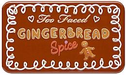 Paletă fard de ochi - Too Faced Gingerbread Spice Mini Eye Shadow Palette — Imagine N1