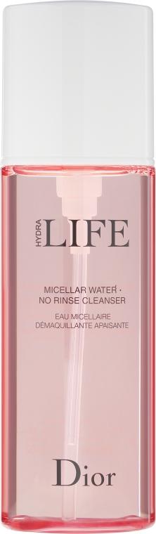 Apă micelară - Dior Hydra Life Micellar Water No Rinse Cleanser — Imagine N2