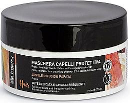 Parfumuri și produse cosmetice Mască de protecție pentru păr - Bio Happy Jungle Infusion Protective Hair Mask
