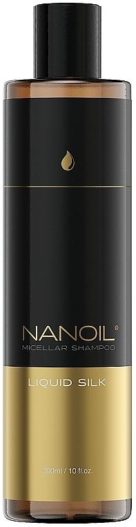 Șampon micelar cu mătase lichidă - Nanoil Liquid Silk Micellar Shampoo