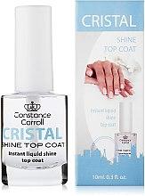 Parfumuri și produse cosmetice Acoperire de uscare pentru unghii - Constance Carroll Cristal Shine Top Coat