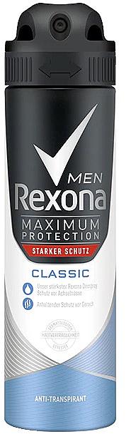 Spray deodorant pentru bărbați - Rexona Maximum Protection Classic Men Deospray