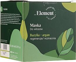 Parfumuri și produse cosmetice Mască de păr - _Element Basil Strengthening Anti-Hair Loss Mask