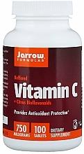 Parfumuri și produse cosmetice Suplimente nutritive - Jarrow Formulas Vitamin C (Buffered) + Citrus Bioflavonoids, 750 mg
