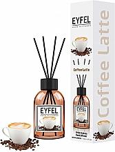 "Parfumuri și produse cosmetice Difuzor aromatic ""Cafea"" - Eyfel Perfume Reed Diffuser Coffee"