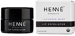 Parfumuri și produse cosmetice Exfoliant pentru buze - Henne Organics Lavender Mint Lip Exfoliator