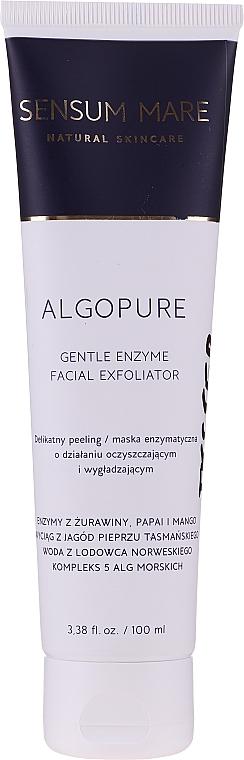 Peeling enzimatic pentru față - Sensum Mare Algopure Gentle Enzyme Facial Exfoliator — Imagine N1