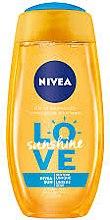 "Parfumuri și produse cosmetice Gel de duș ""Sunshine Love"" - Nivea Shower Gel Sunshine Love"