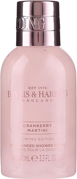Set - Baylis & Harding Cranberry Martini (sh/gel/100ml + b/lot/100ml + sh/cr/100ml) — Imagine N3