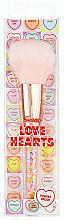 Parfumuri și produse cosmetice Pensulă pentru pudră - Swizzels Love Hearts Powder Brush