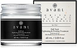 Parfumuri și produse cosmetice Cremă pentru gât și decolteu - Avant Skincare Full Neck Tightening and Firming Treatment