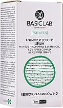Parfumuri și produse cosmetice Ser facial pentru eliminarea imperfecțiunilor - BasicLab Esteticus Face Serum