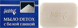 Parfumuri și produse cosmetice Săpun cu argilă albă - Golden Farm