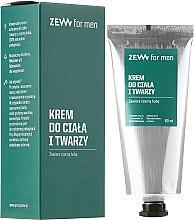 Parfumuri și produse cosmetice Cremă pentru față și corp - Zew For Men Face And Body Cream
