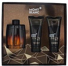 Parfumuri și produse cosmetice Montblanc Legend Night - Set (edp/100ml + sh/gel/100ml + ash/balm/100ml)