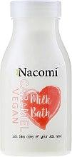 """Parfumuri și produse cosmetice Lapte de baie """"Caramel"""" - Nacomi Milk Bath Caramel"""