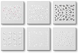 Parfumuri și produse cosmetice Abțibilduri pentru unghii 42928 - Top Choice Nail Decorations Stickers Set