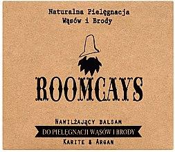 Parfumuri și produse cosmetice Balsam cu unt de shea pentru mustăți și barbă - Avenir Cosmetics Roomcays