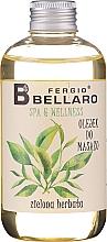 """Parfumuri și produse cosmetice Ulei de masaj """"Ceai verde"""" - Fergio Bellaro Massage Oil Green Tea"""