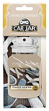 Parfumuri și produse cosmetice Aromatizator auto - Yankee Candle Car Jar Seaside Woods