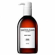 Parfumuri și produse cosmetice Gel de duș hidratant și calmant cu parfum de flori de bergamotă și de lămâie - Sachajuan Ginger Flower Body Wash