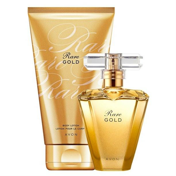 Avon Rare Gold - Set (edp/50ml + b/lot150ml) — Imagine N2