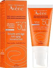 Parfumuri și produse cosmetice Cremă protecție solară - Avene Solaire Anti-Age SPF 50 +