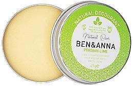 Parfumuri și produse cosmetice Deodorant cremă - Ben & Anna Persian Lime Soda Cream Deodorant