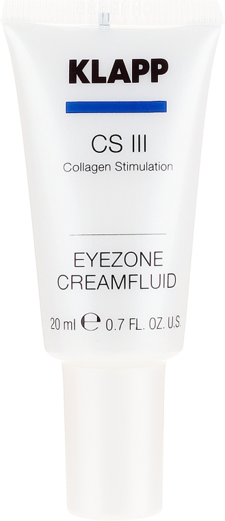 "Cremă pentru pleoape ""Colagen"" - Klapp Collagen CSIII Eye Zone Cream Fluid — Imagine N2"