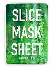 Parfumuri și produse cosmetice Mască de față - Kocostar Slice Mask Sheet Cucumber