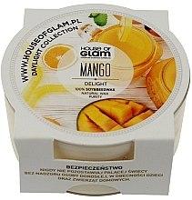 Parfumuri și produse cosmetice Lumânare aromată - House of Glam Mango Delight Candle (mini)