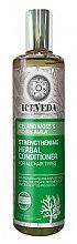 Parfumuri și produse cosmetice Balsam pentru păr - Natura Siberica Iceveda Iceland Moss&Indian Amla Strengthening Herbal Conditioner