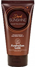Parfumuri și produse cosmetice Loțiune pentru bronz - Austraian Gold Sunscreen Dark Magnifying Bronzer Professional Lotion