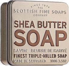 """Parfumuri și produse cosmetice Săpun """"Unt de shea"""" - Scottish Fine Soaps Shea Butter Finest Triple-Milled Soap In A Tin"""