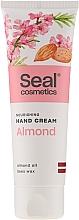 """Parfumuri și produse cosmetice Cremă de mâini """"Migdale"""" - Seal Cosmetics Almond Hand Cream"""
