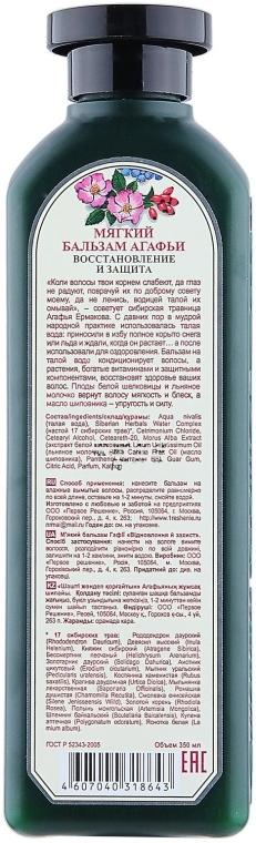 "Balsam delicat Agafia ""Restaurare și protecție' - Reţete bunicii Agafia — Imagine N2"