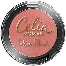 Parfumuri și produse cosmetice Fard de obraz - Celia Woman Rose Blush